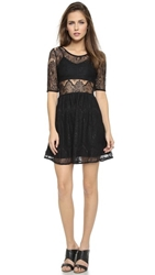 Minkpink Meet Me In St.Louis Dress Black