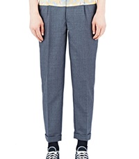 Archive Kolor Patterned Panel Suiting Pants Grey