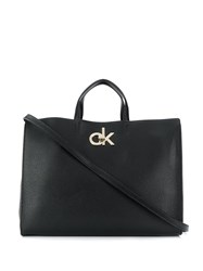 Calvin Klein Re Lock Tote Bag Black