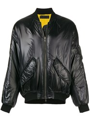 Haider Ackermann Zipped Up Bomber Jacket Black