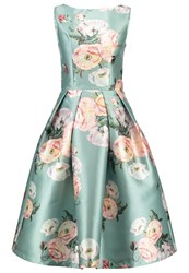 Chi Chi London Rach Cocktail Dress Party Dress Green