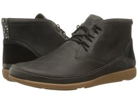 Chaco Montrose Chukka Nickel Gray Men's Lace Up Boots Black