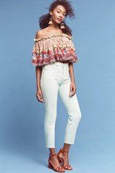 Anthropologie Levi's Wedgie Icon High Rise Jeans Sky