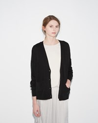 Organic By John Patrick Perfect Cardigan Black