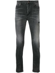 Saint Laurent Slim Fit Jeans Grey