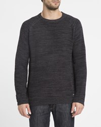 Billabong Black Broke Round Neck Sweater