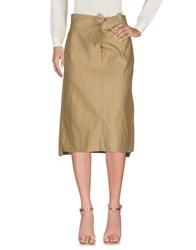 Sofie D'hoore 3 4 Length Skirts Military Green