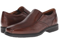 Rockport Dressports Luxe Bike Toe Slip On New Brown Men's Shoes