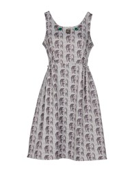 So Nice Dresses Short Dresses Women Grey