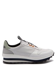 Givenchy Tr3 Low Top Leather Trainers White Multi