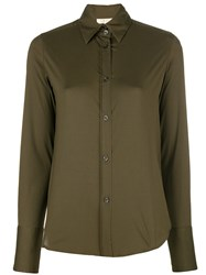 Romeo Gigli Vintage Fitted Shirt Green