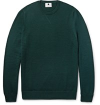 Nn.07 Nn07 Barca Wool Weater Emerald