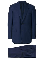 Brioni Two Piece Suit Blue