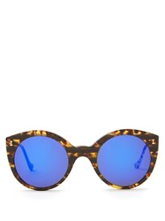 Illesteva Palm Beach Acetate Sunglasses Tortoiseshell