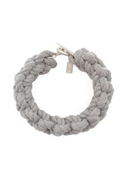 1 100 Toggle Braid Bracelet Grey