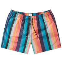 Paul Smith Artist Stripe Swim Short Multi