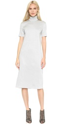 Nina Ricci Short Sleeve Dress Argento