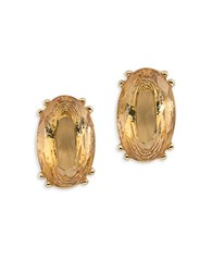 Carolee Cosmo Goldtone Stud Pierced Earrings