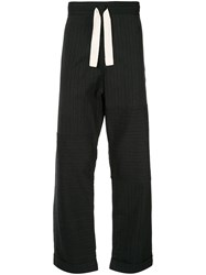 Wales Bonner Striped Straight Leg Trousers 60