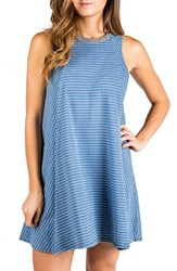 Element Women's 'Noir' Stripe Tank Dress