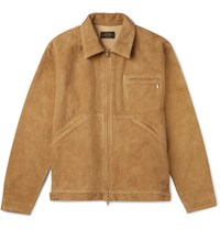 Beams Plus Suede Jacket Tan