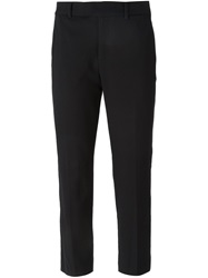 Paul By Paul Smith Cropped Trousers Black