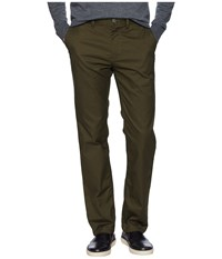 Dc Worker Straight Chino Pants Dark Olive Casual Pants