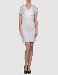 Alpha Short Dresses White