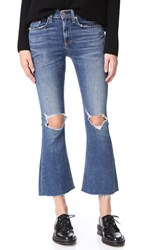 Rag And Bone Crop Flare Jeans Howell