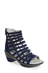 Jambu Women's 'Brookline' Gladiator Sandal Blue