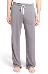 Daniel Buchler Men's Pima Cotton And Modal Lounge Pants Grey