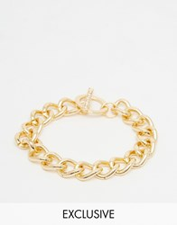 Designsix Chain Bracelet In Gold