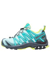 Salomon Xa Pro 3D Gtx Trail Running Shoes Aruba Blue Ombre Blue Lime Punch Turquoise