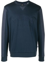 Hugo Boss Sweatshirt Blue