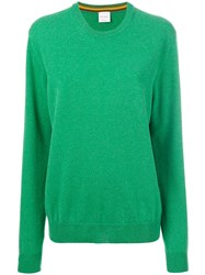 Paul Smith Crew Neck Sweater Cashmere Xl Green