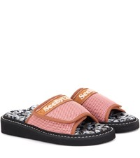 See By Chloe Slip On Sandals Pink
