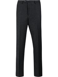 Officine Generale Slim Tailored Trousers Grey