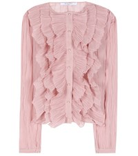 Givenchy Ruffled Blouse Pink