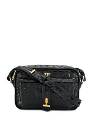 Tom Ford Camera Embossed Bag Black