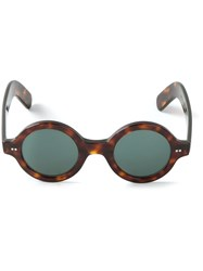 Cutler And Gross Round Sunglasses Unisex Acetate Brown