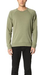 Obey Lofty Creature Comforts Crew Sweatshirt Light Army