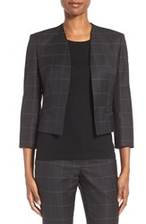 Boss Women's Jianne Crop Open Front Jacket