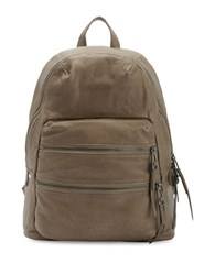 Liebeskind Textured Leather Backpack Brown