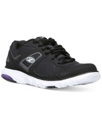 Dr. Scholl's Raven Athletic Sneakers Women's Shoes Black Mesh