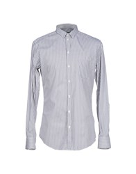 Dandg Shirts Shirts Men Grey