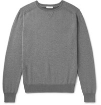 Boglioli Cotton And Cashmere Blend Sweater Gray