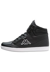 Kappa Forward Hightop Trainers Black White