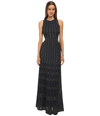 M Missoni Solid Lurex Long Gown