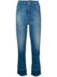 Closed Cropped Slim Jeans Blue