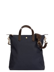 Mismo M S Shopper Navy Dark Brown Blue